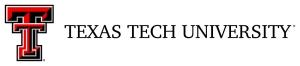 Texas Tech Lockup
